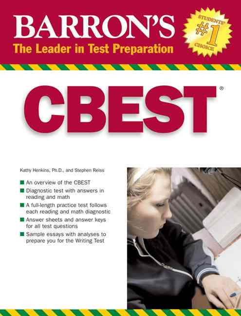 CBEST By Henkins, Kathryn/ Reiss, Stephen A.